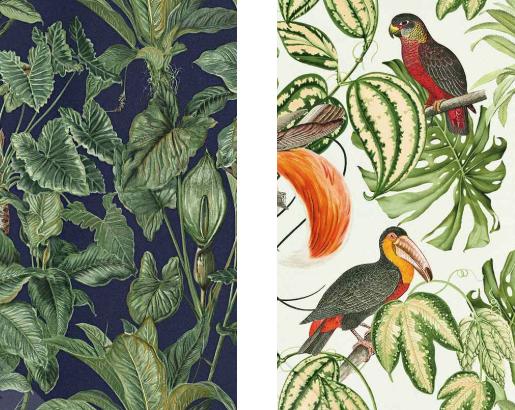 Botanisch-behang-trend