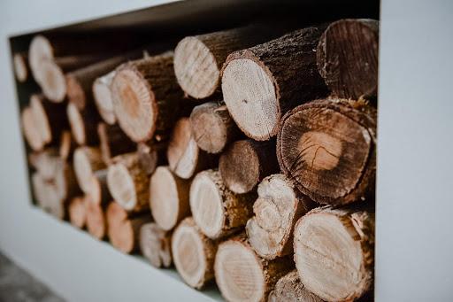 hout voor de kachel